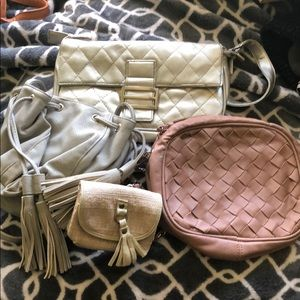 Miscellaneous group of purses and wallet